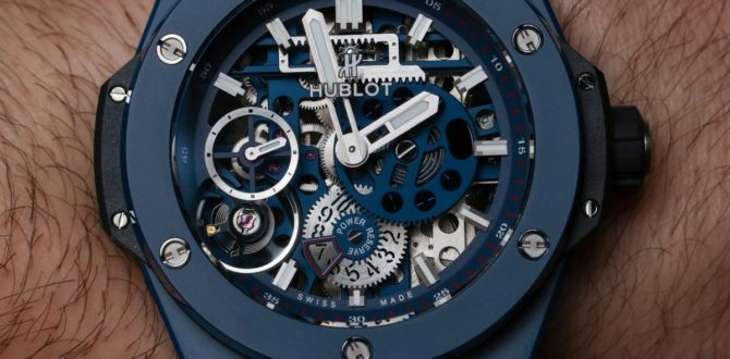 8063700fd300 Replicas Hublot Meca-10 Ceramic Blue Hands-On y por qué este Big ...
